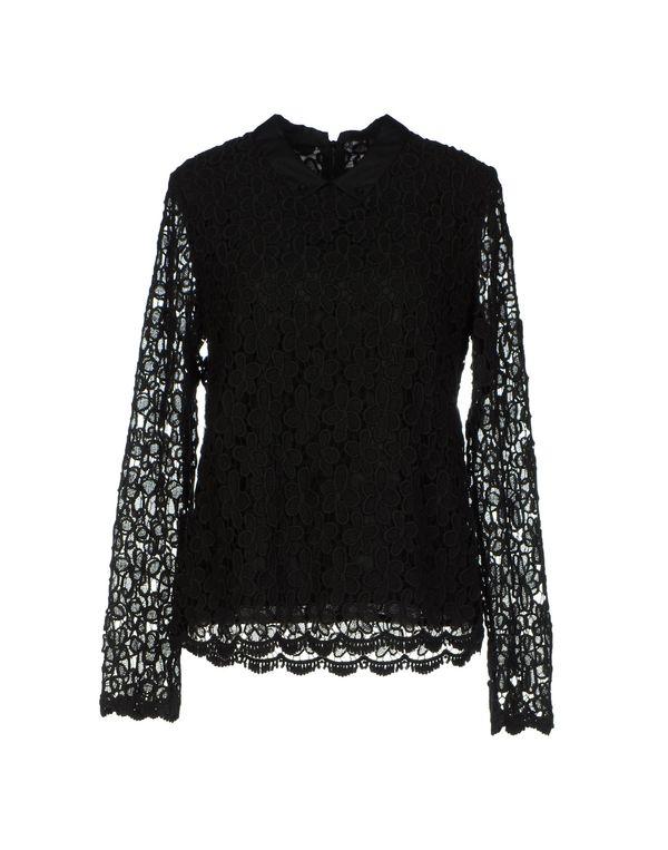 黑色 SEA 女士衬衫