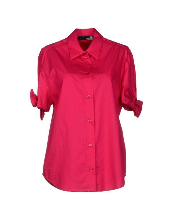石榴红 LOVE MOSCHINO Shirt