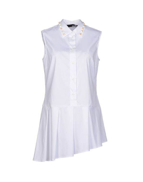 白色 LOVE MOSCHINO 女士衬衫