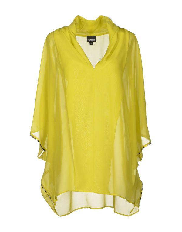 荧光绿 JUST CAVALLI 女士衬衫