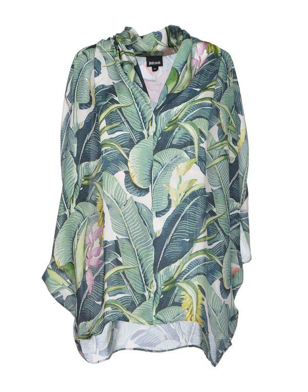 绿色 JUST CAVALLI 女士衬衫
