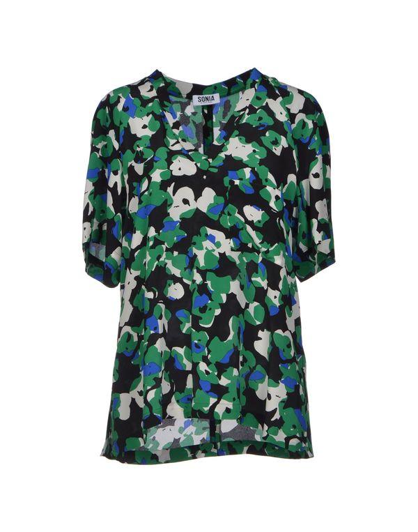 绿色 SONIA BY SONIA RYKIEL 女士衬衫