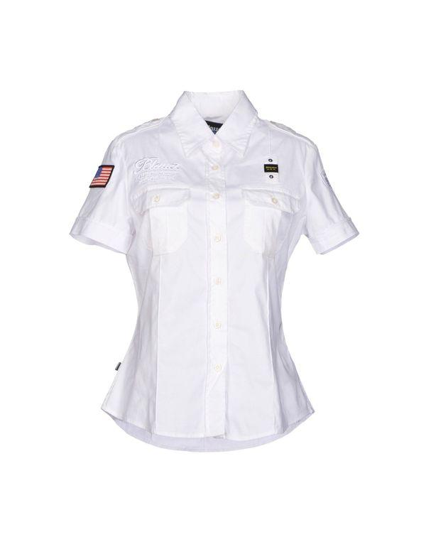白色 BLAUER Shirt