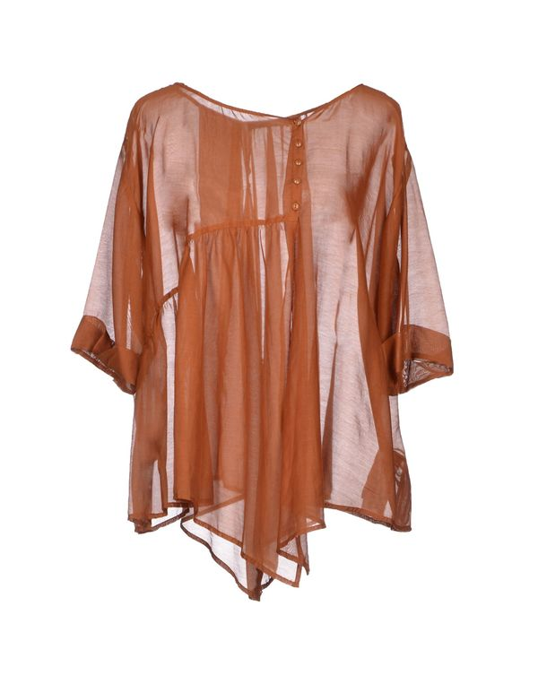 棕色 LIU •JO Shirt