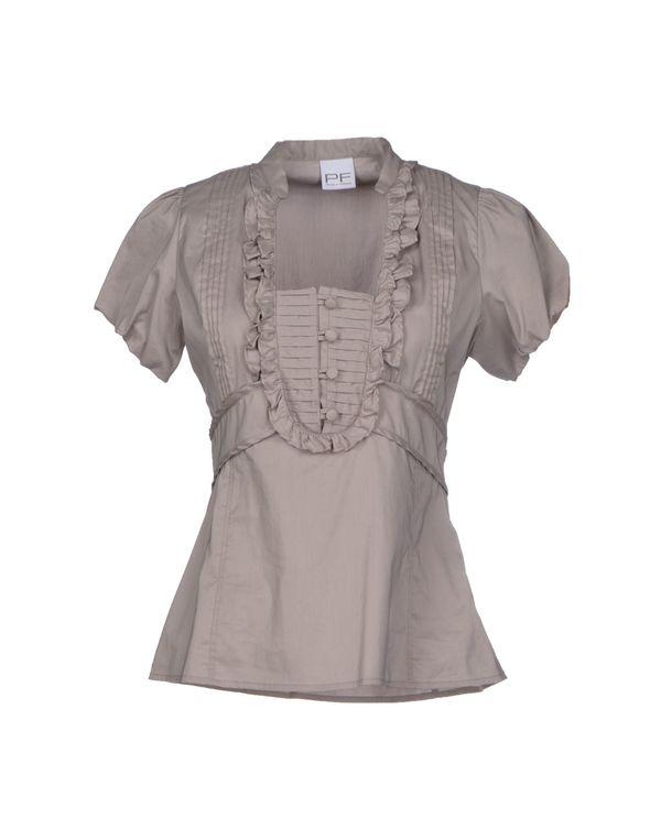 灰色 PF PAOLA FRANI 女士衬衫