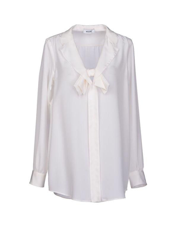 白色 MOSCHINO 女士衬衫