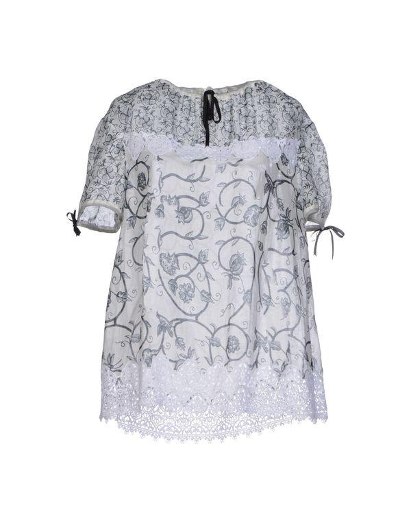 白色 MEADHAM KIRCHHOFF 女士衬衫
