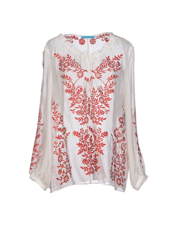 象牙白 ALICE+OLIVIA 女士衬衫