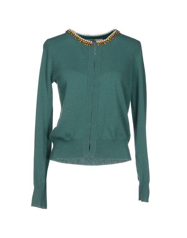绿色 JUCCA 针织开衫