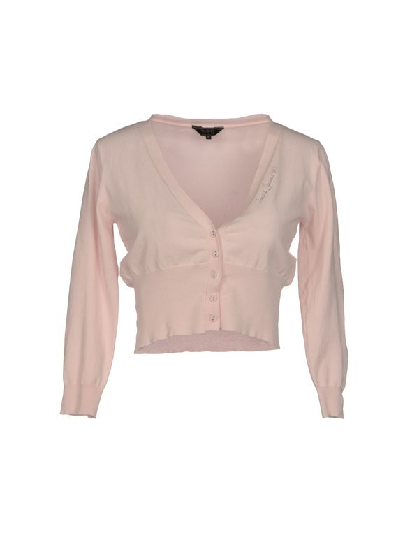 粉红色 GUESS 针织开衫