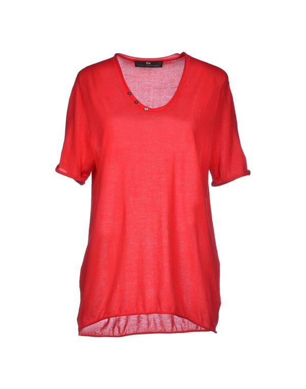 红色 D.A. DANIELE ALESSANDRINI 套衫