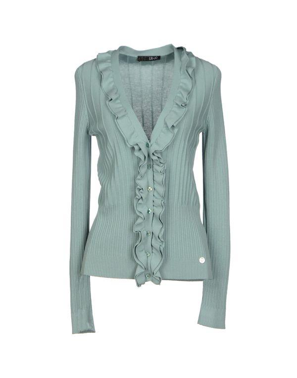 天蓝 LIU •JO 针织开衫