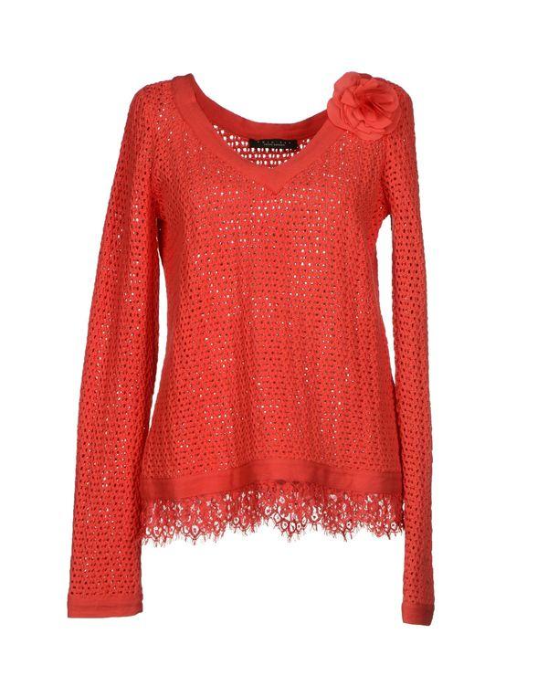 红色 TWIN-SET SIMONA BARBIERI 套衫
