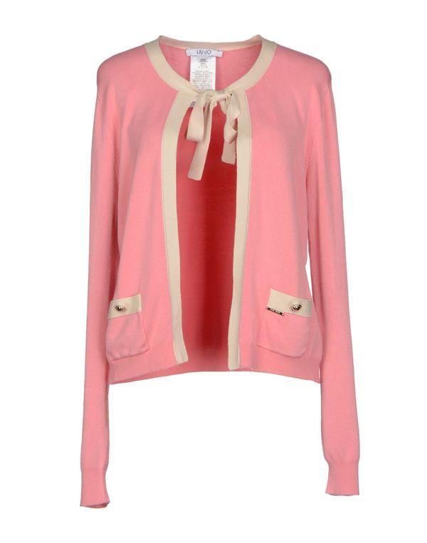 粉红色 LIU •JO JEANS 针织开衫