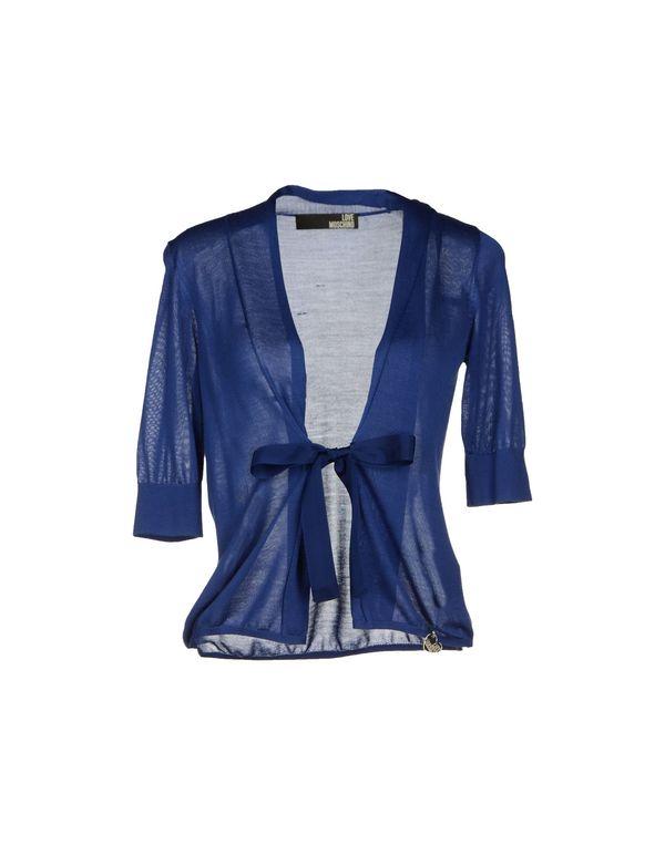 蓝色 LOVE MOSCHINO 针织开衫