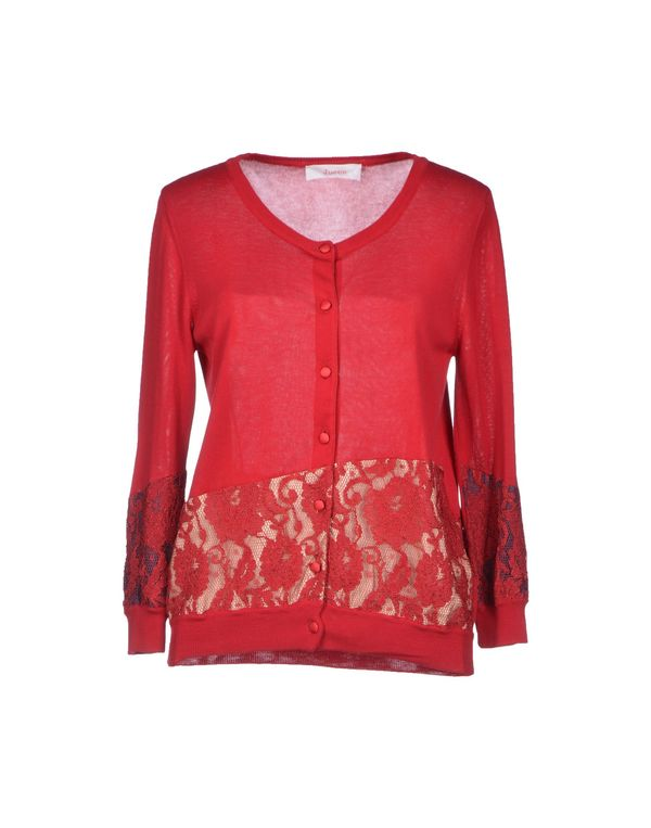 砖红 JUCCA 针织开衫