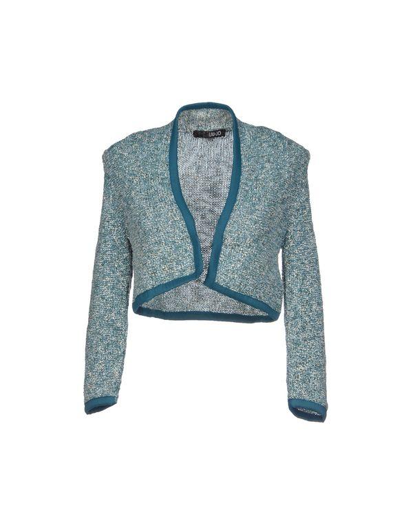 孔雀绿 LIU •JO 针织开衫