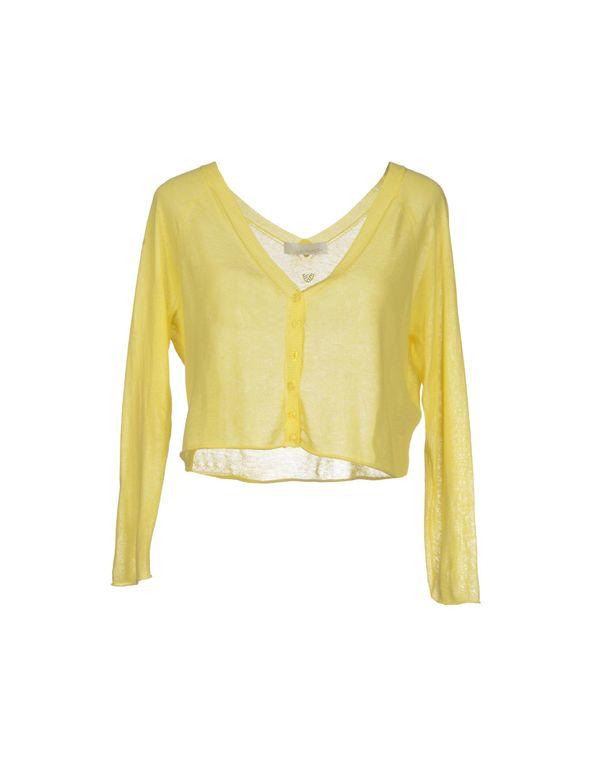 黄色 LALTRAMODA 针织开衫