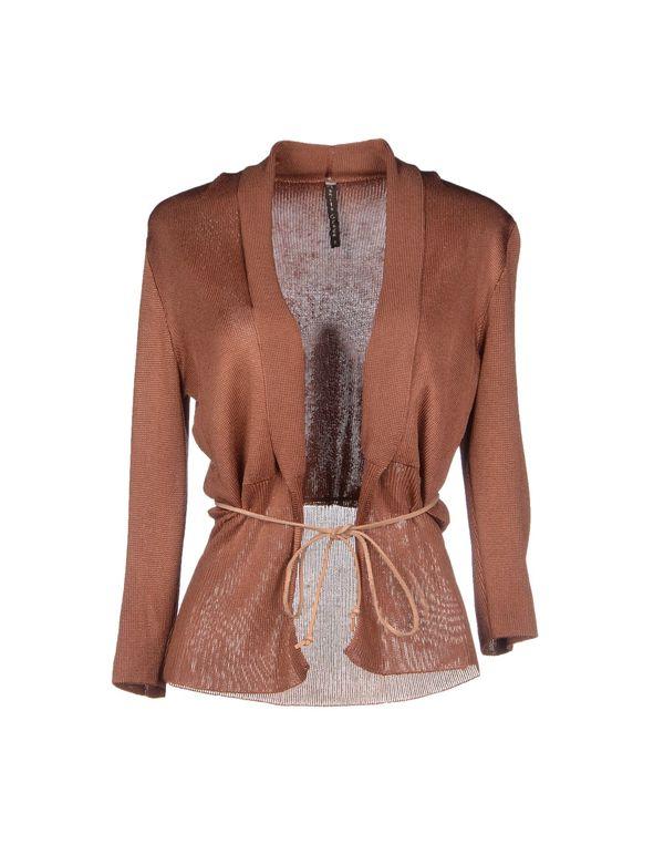 棕色 MANILA GRACE 针织开衫