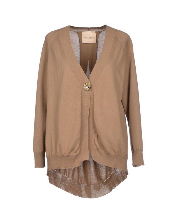 棕色 SEMI-COUTURE 针织开衫