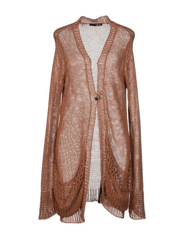 棕色 LIU •JO 针织开衫