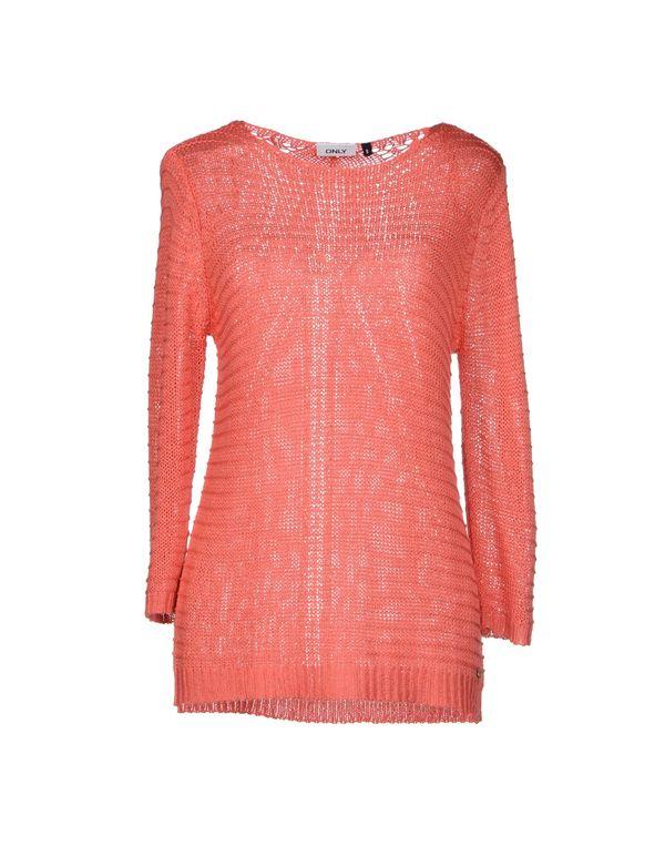 粉红色 ONLY 套衫
