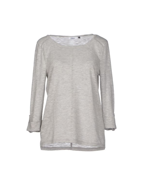 淡灰色 ONLY 套衫