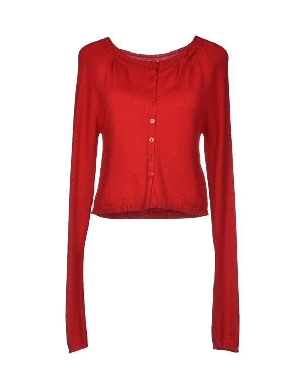 红色 SCEE BY TWIN-SET 针织开衫