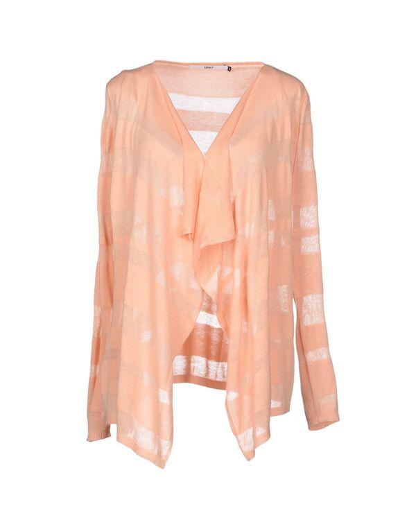 鲑鱼粉 ONLY 针织开衫