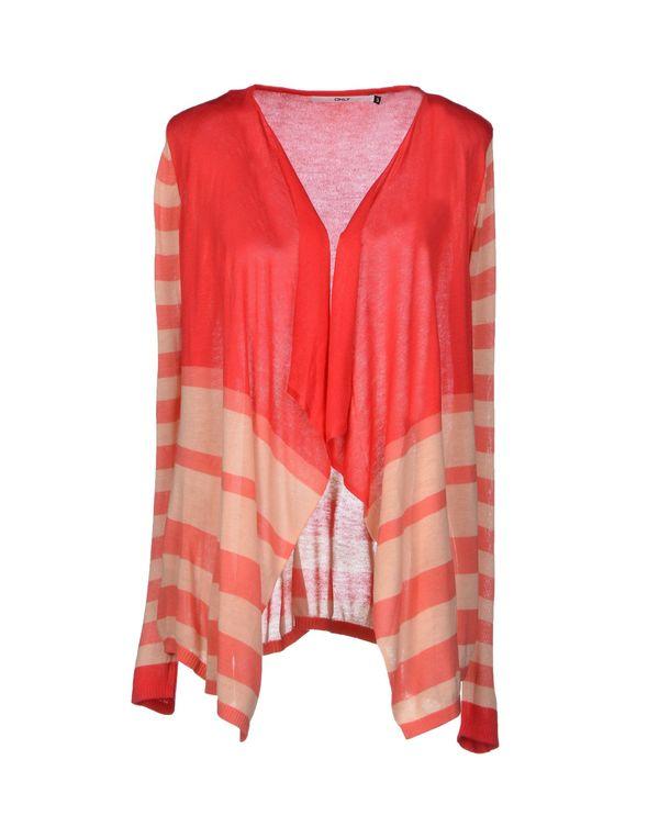 玫红色 ONLY 针织开衫