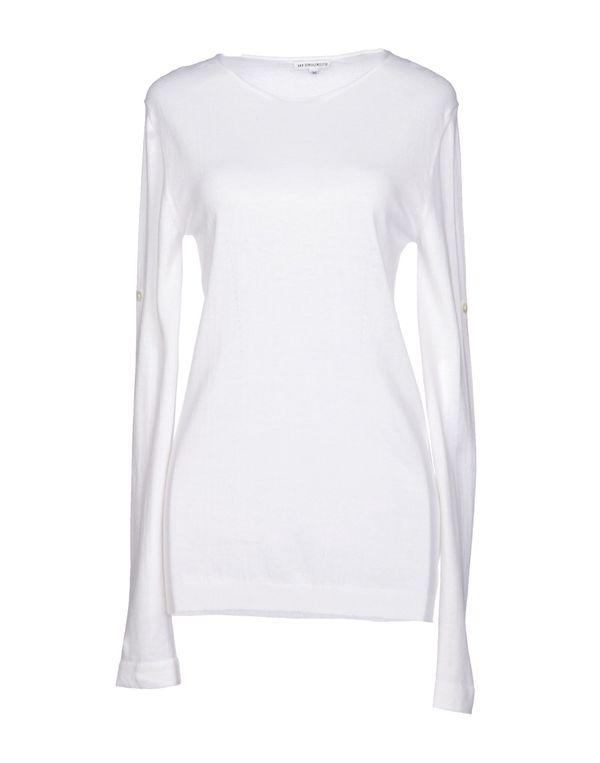 白色 ANN DEMEULEMEESTER 套衫