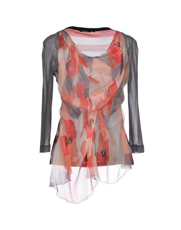 珊瑚红 PIANURASTUDIO 女士衬衫