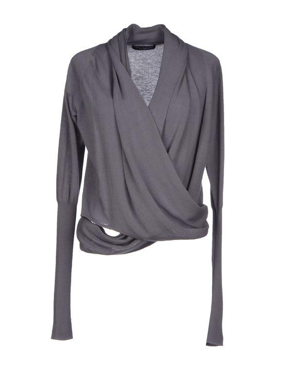 铅灰色 LIU •JO 针织开衫