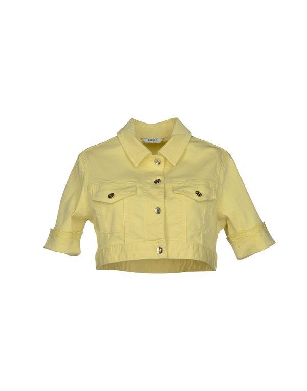浅黄色 LIU •JO JEANS 牛仔外套