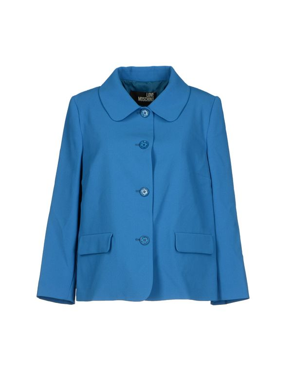 蓝色 LOVE MOSCHINO 西装上衣