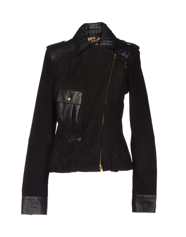 黑色 JUST CAVALLI 夹克