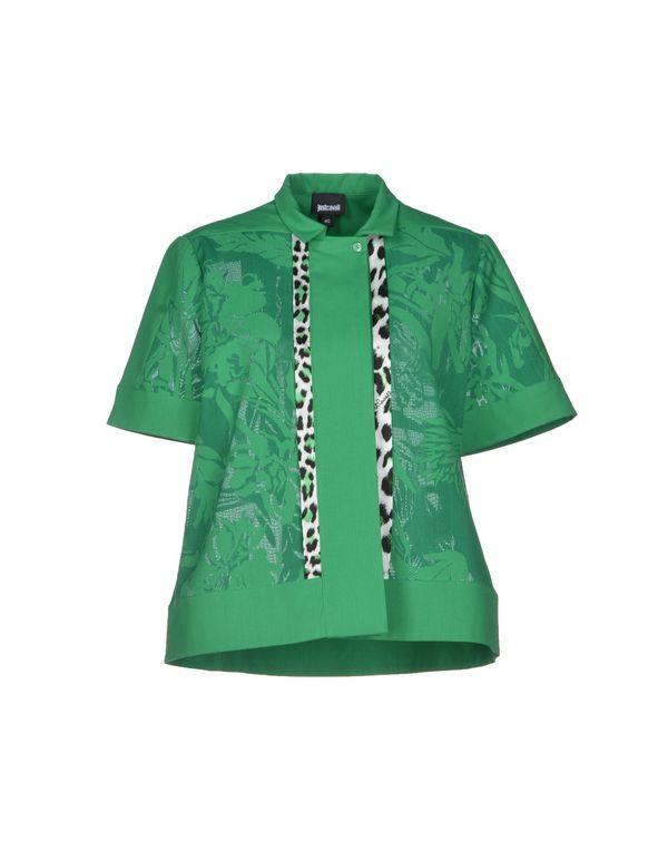 绿色 JUST CAVALLI Shirt