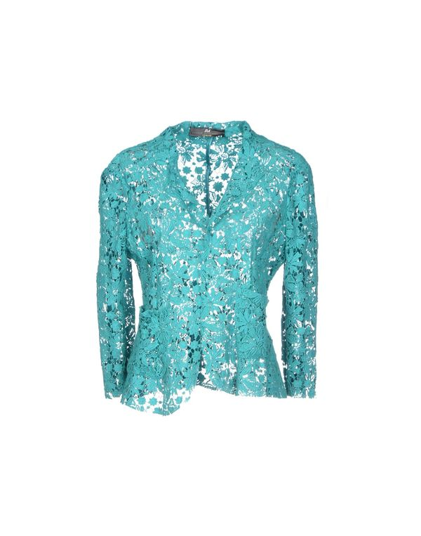 蓝绿色 D.A. DANIELE ALESSANDRINI 西装上衣