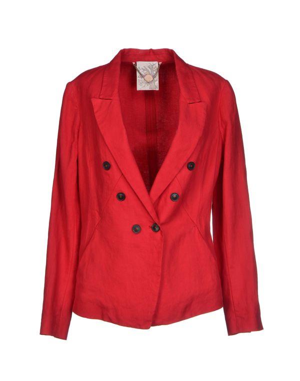 红色 GOLD CASE 西装上衣
