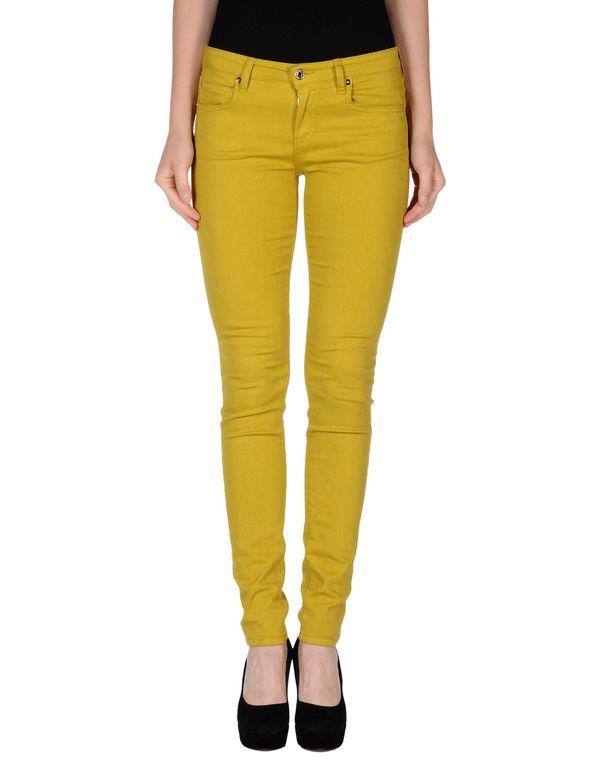 荧光绿 M.GRIFONI DENIM 牛仔裤