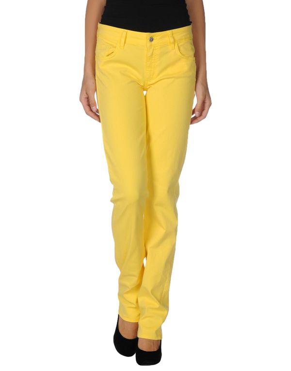 黄色 LIU •JO JEANS 牛仔裤