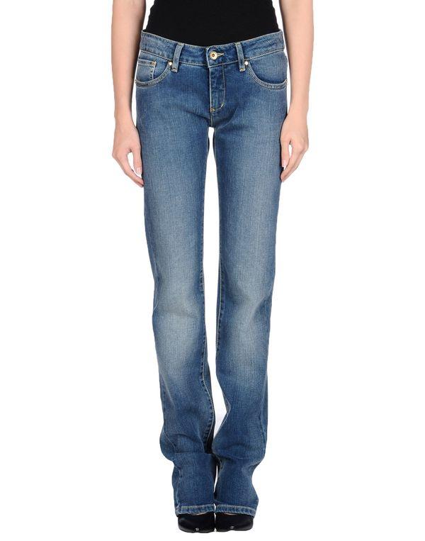 蓝色 LOVE MOSCHINO 牛仔裤