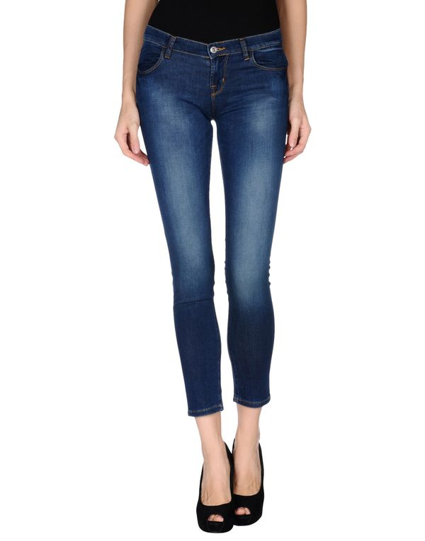 蓝色 BRIAN DALES 牛仔裤