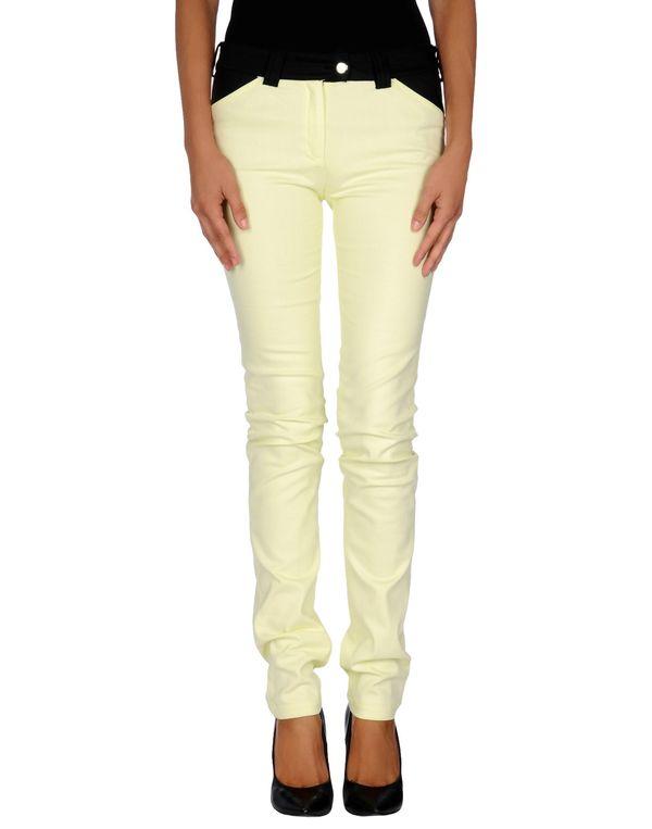 浅黄色 BALENCIAGA 牛仔裤