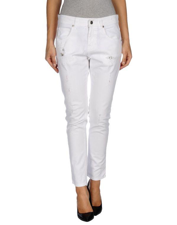 白色 PINKO GREY 牛仔裤