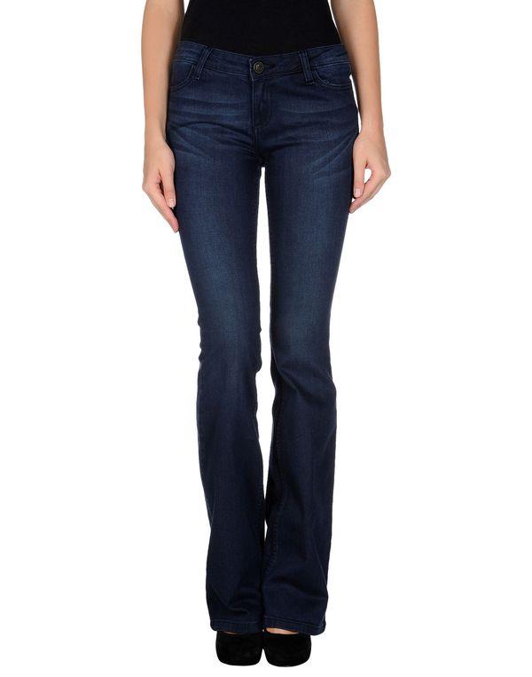蓝色 TWIN-SET JEANS 牛仔裤