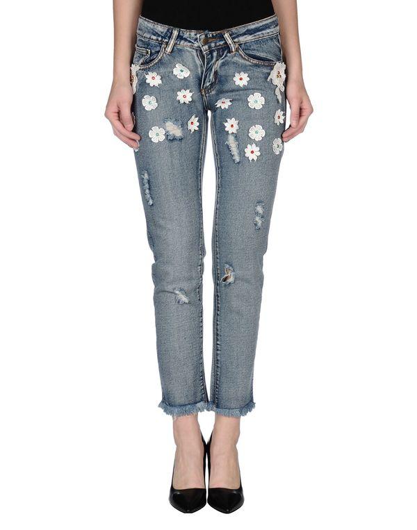 蓝色 BRIGITTE BARDOT 牛仔裤
