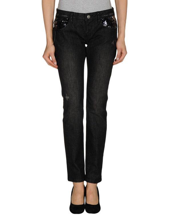 黑色 REPLAY 牛仔裤