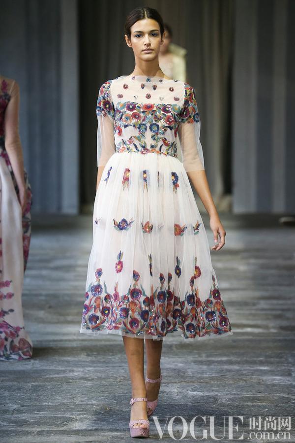 Luisa Beccaria2015春夏时装秀