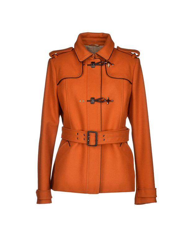 橙色 FAY 大衣